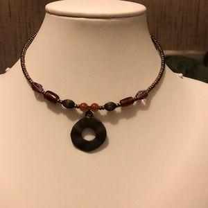 Vintage coil necklace